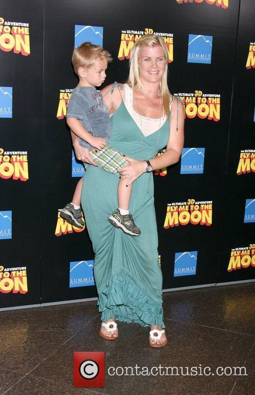 Alison Sweeney and her Son  The Los...