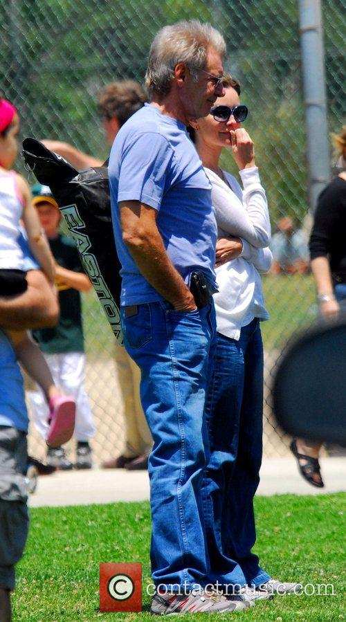 Harrison Ford and Calista Flockhart 4