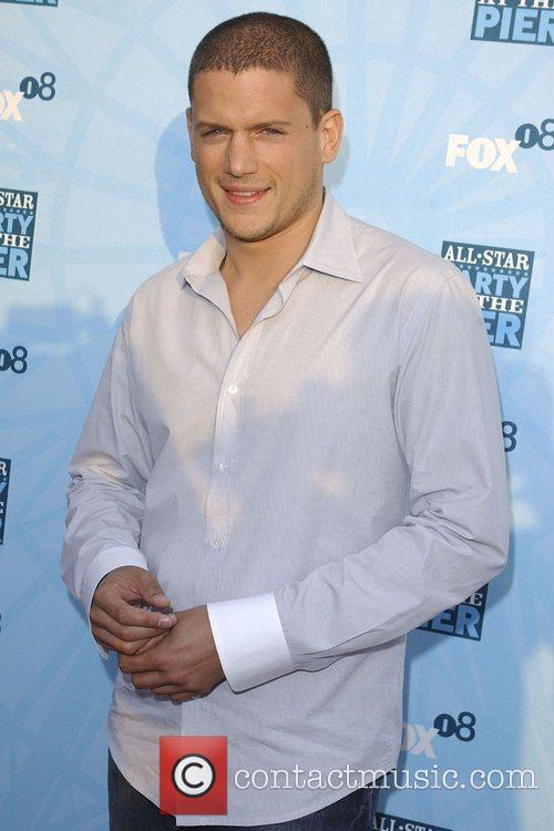 Wentworth Miller, Fox All-Star Party At The Pier