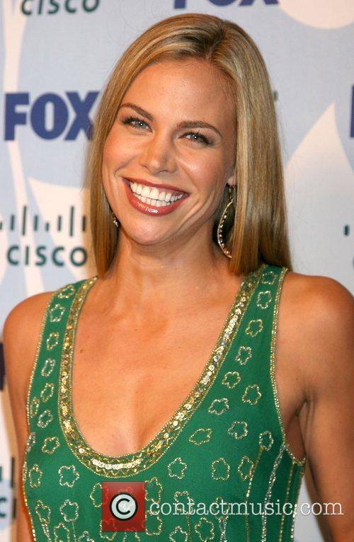 Brooke Burns arriving at the Fox ECO Casino...