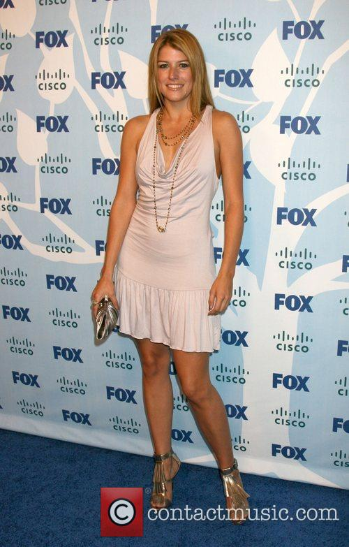 Nicole Parker  arriving at the Fox ECO...