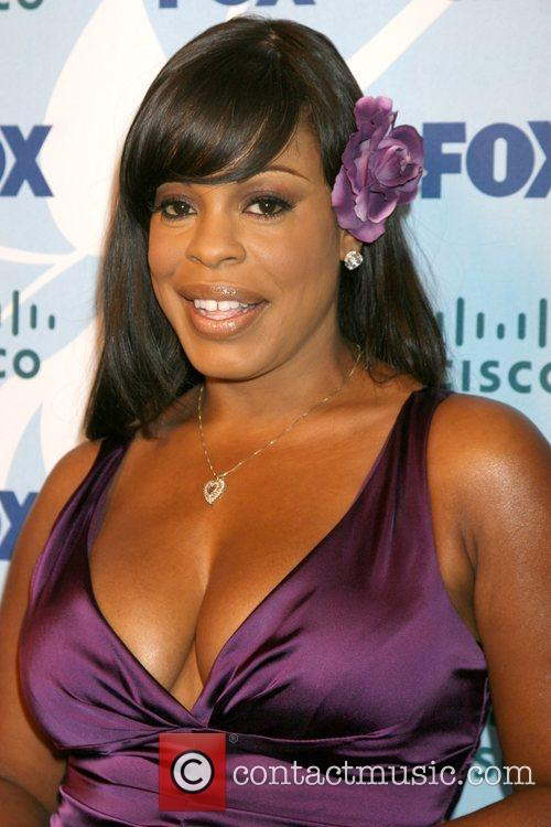 Niecy Nash arriving at the Fox ECO Casino...