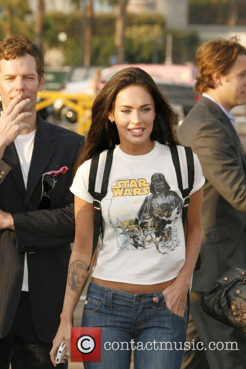 Megan Fox arrives for Fox All-Star Party at...