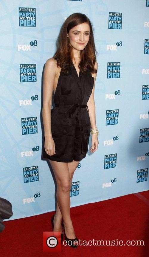 Rose Byrne Fox All-Star Party At The Pier...