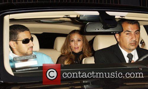 Jennifer Lopez leaving Foxtail