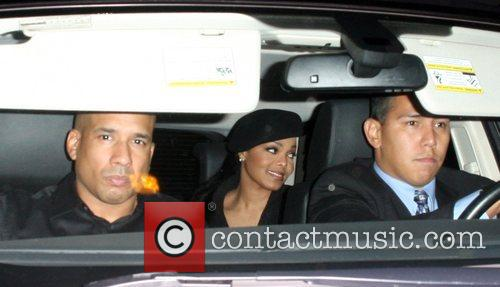 Janet Jackson leaving Foxtail