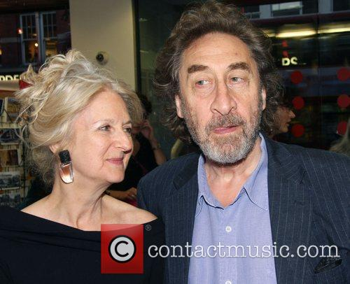 Howard Jacobson and guest The Foyles Summer Party...