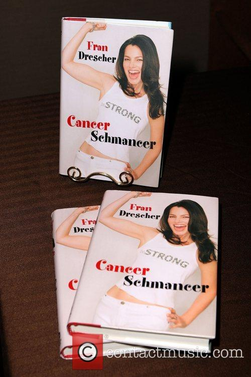 Fran Drescher discusses her book 'Cancer Schmancer' at...
