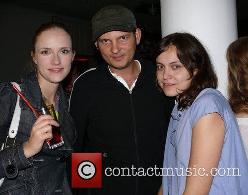 Heinz Gindullis (Cookie), guests Friday 13th party at...