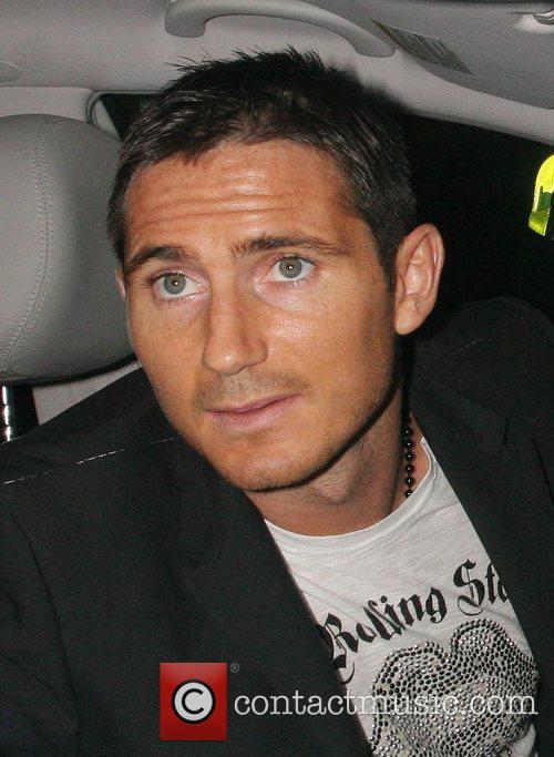 Frank Lampard leaves the Funky Buddah nightclub at...