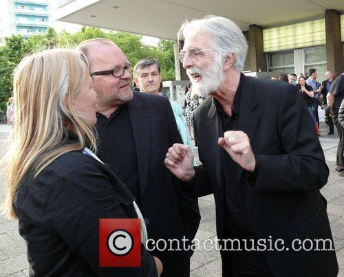 Stefan Arndt, His Wife Manuela Stehr and Michael Haneke 1
