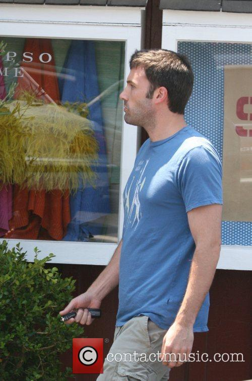 Ben Affleck leaving The Brentwood Country Mart Los...
