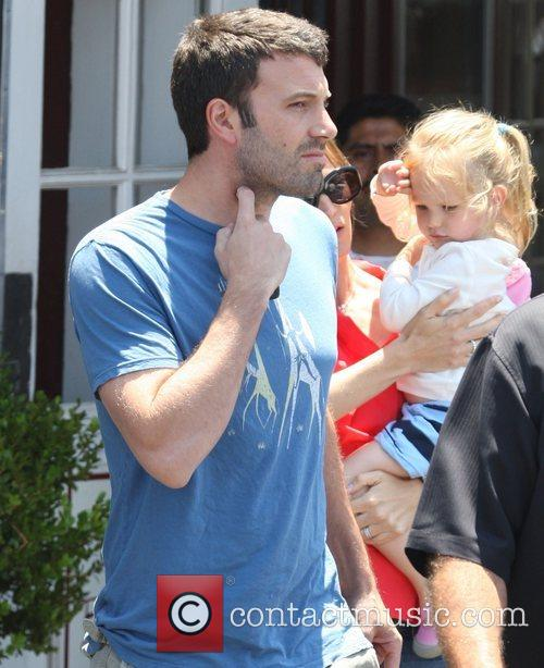 Ben Affleck, Jennifer Garner and daughter Violet Affleck...