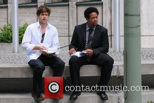 Ken Duken and Gary Dourdan 2