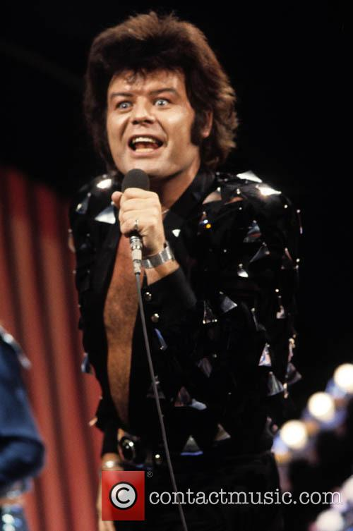 Gary Glitter performs in 1972 when the flamboyant...