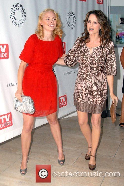 Jamie King and Paula Marshall TV Guide Fall...