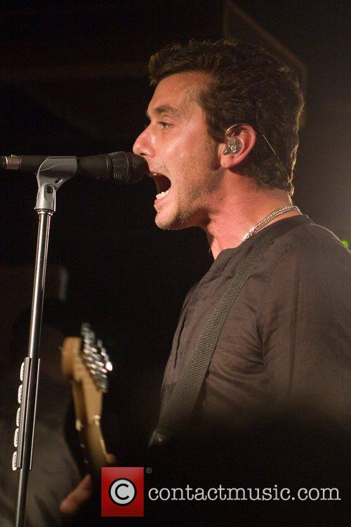 Ex-Bush front man Gavin Rossdale performs his solo...