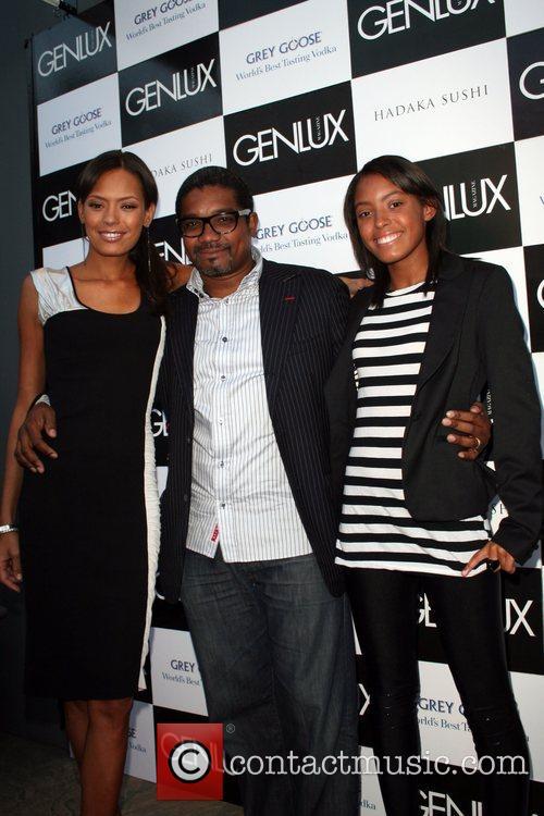 Keisha Whitaker, Mark Baptist and Guest Genlux magazine...