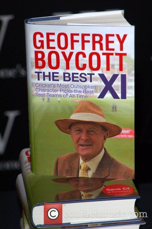 Geoffrey Boycott's new book 'The Best XI' at...
