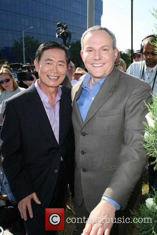Former 'Star Trek' actor George Takei and his...