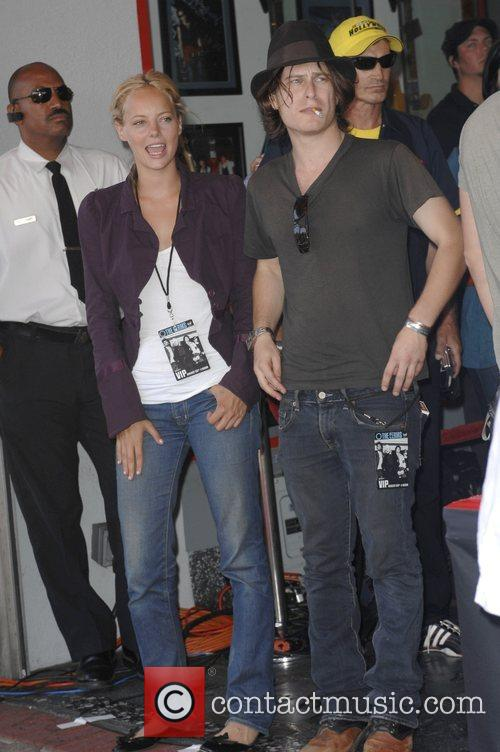 Bijou Phillips and Noah Segan The Germs are...