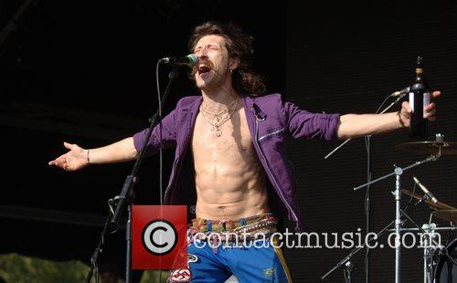 Gogol Bordello Get Loaded in The Park held...