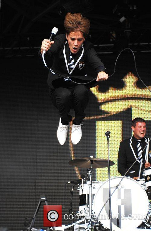 The Hives perform at Get Loaded In The...