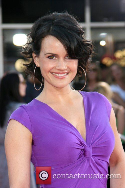 Carla Gugino Premiere of 'Get Smart' at Mann's...