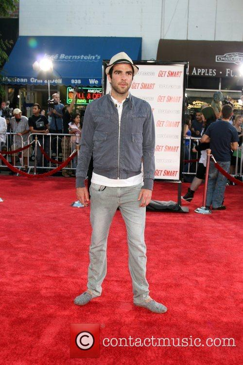 Zachary Quinto Premiere of 'Get Smart' at Mann's...
