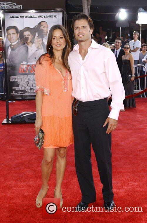 Brooke Burke and David Charvet Premiere of 'Get...