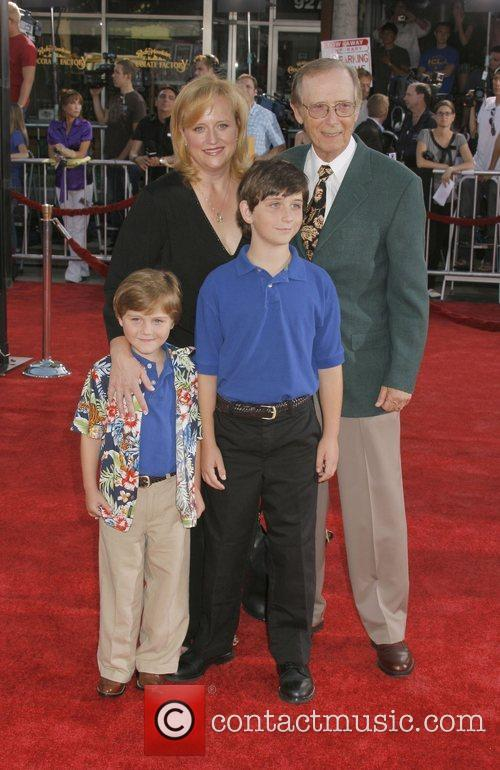 Bernie Kopell and guests Premiere of 'Get Smart'...