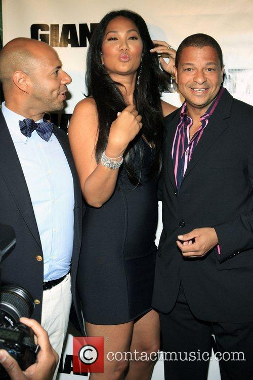 Emil Wilbekin, Kimora Lee Simmons and Alfred Liggins...
