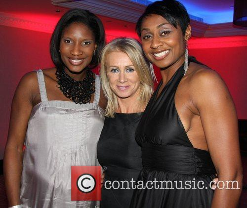 Denise Lewis and Karen Millen 2