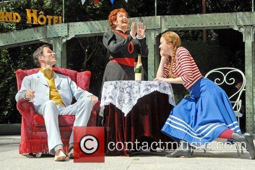 Thomas Borchert, Millicent Martin and Lisa O'Hare...