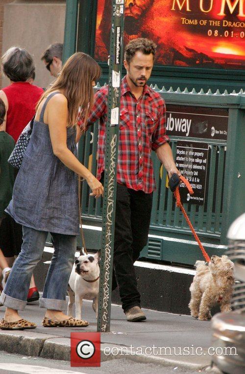 Walk dogs around SoHo