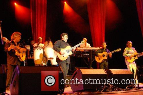 The Gipsy Kings perform at the Greek Theatre...