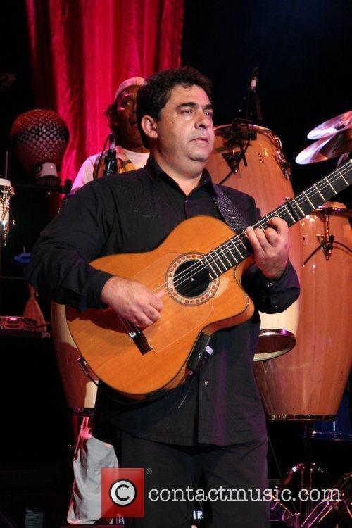 Paco Baliardo The Gipsy Kings perform at the...