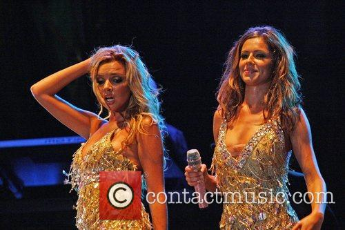 Nadine Coyle and Cheryl Cole 2