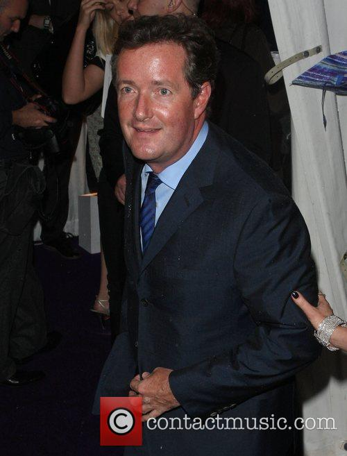 Piers Morgan, Berkeley Square Gardens and Glamour Women Of The Year Awards