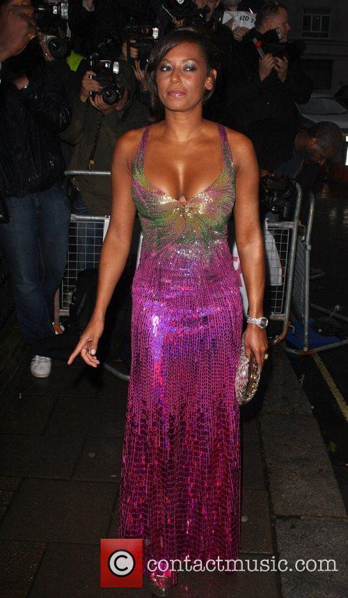 Mel B, Berkeley Square Gardens and Glamour Women Of The Year Awards 1