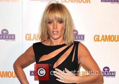 Davinia Taylor, Berkeley Square Gardens and Glamour Women Of The Year Awards 4
