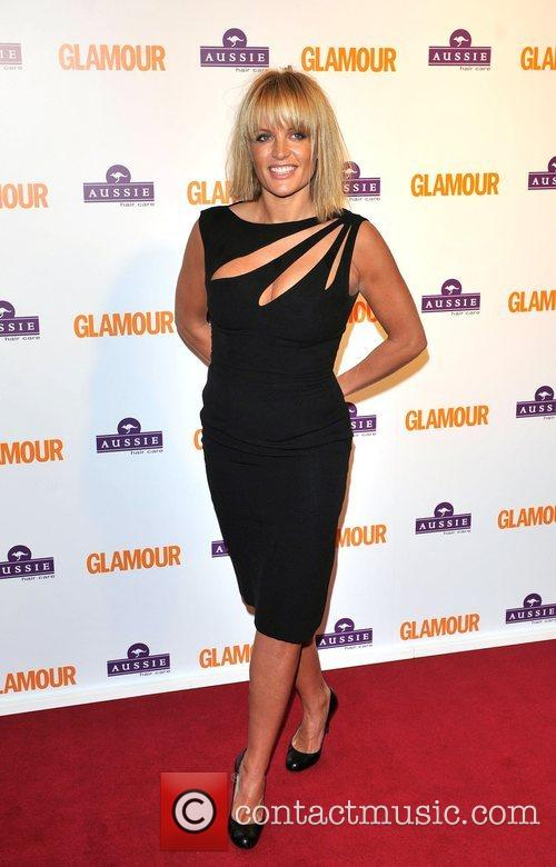 Davinia Taylor, Berkeley Square Gardens and Glamour Women Of The Year Awards 6