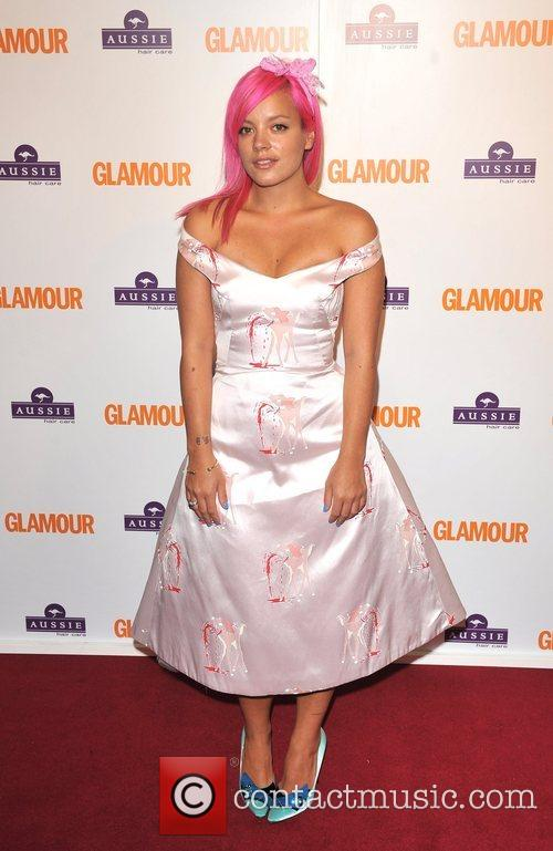 Lily Allen, Berkeley Square Gardens and Glamour Women Of The Year Awards 3