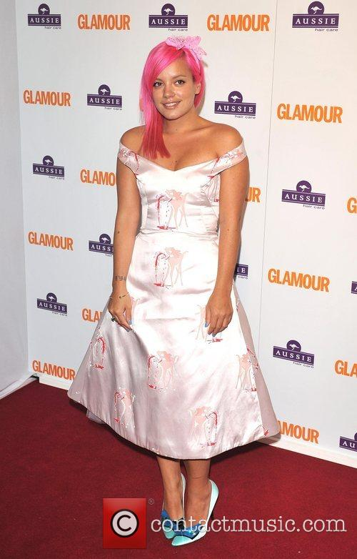 Lily Allen, Berkeley Square Gardens and Glamour Women Of The Year Awards 4
