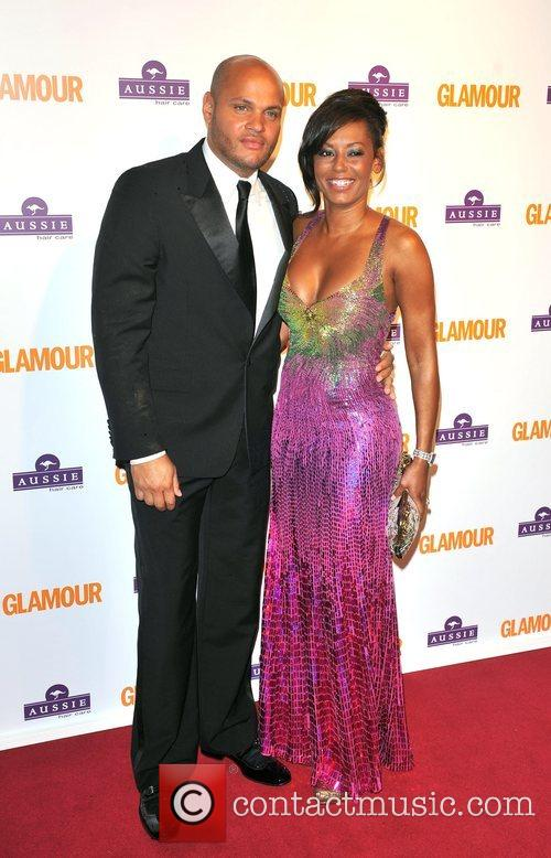 Mel B, Stephen Belafonte, Berkeley Square Gardens and Glamour Women Of The Year Awards 6