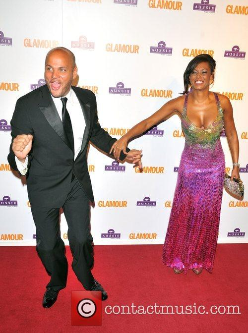 Mel B, Stephen Belafonte, Berkeley Square Gardens and Glamour Women Of The Year Awards 10