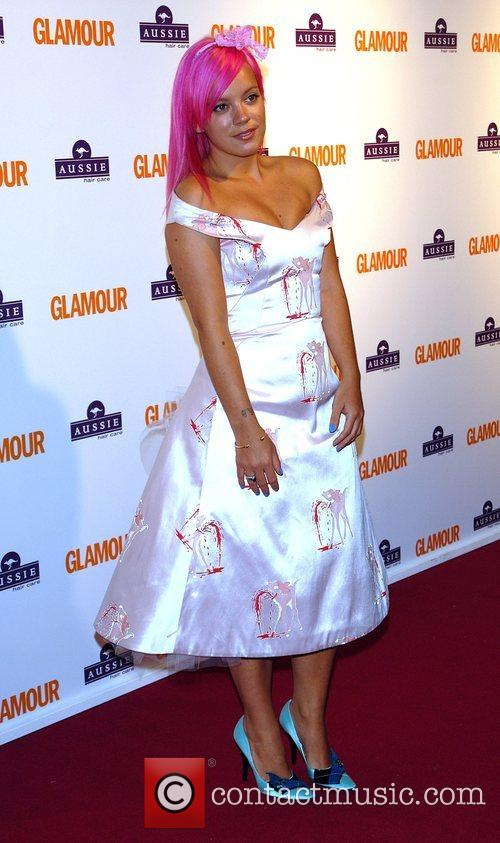 Lily Allen, Berkeley Square Gardens and Glamour Women Of The Year Awards 14
