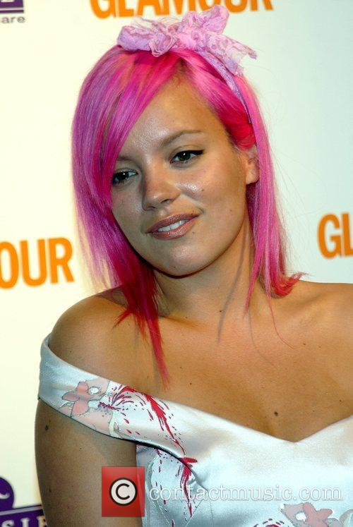 Lily Allen, Berkeley Square Gardens and Glamour Women Of The Year Awards 1