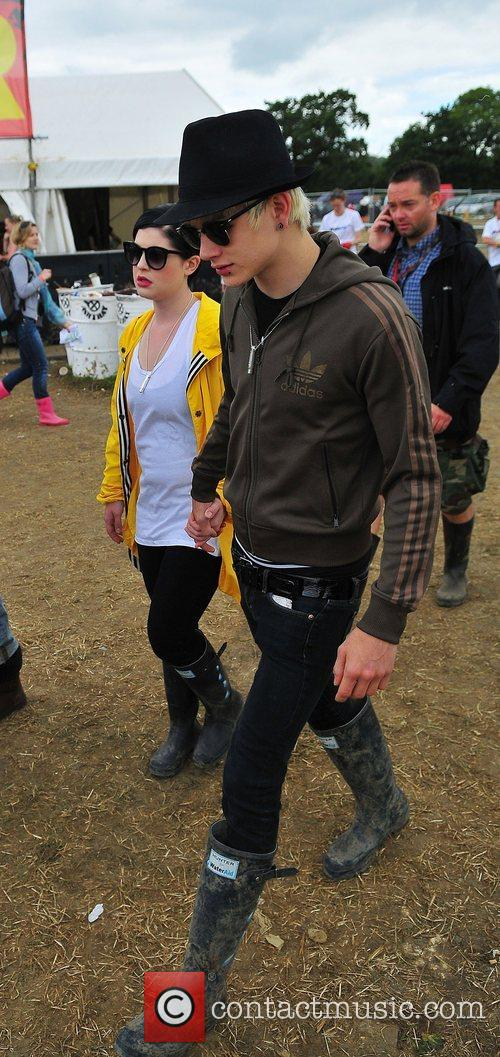 At Glastonbury Festival - Day Three