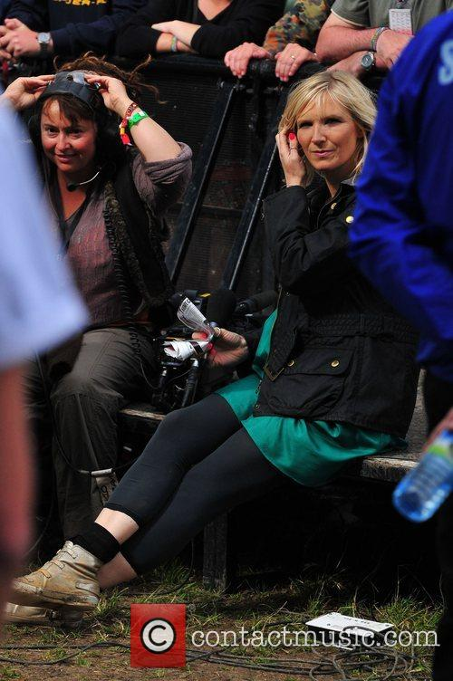 Jo Whiley, Glastonbury Festival